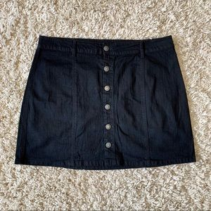 Dresses & Skirts - Button up Denim Skirt
